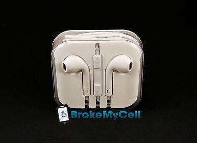 iPhone 5 5th 5G Earbuds EarPods Earphone Headphone w/ Remote & Mic - USA Ship on eBay!