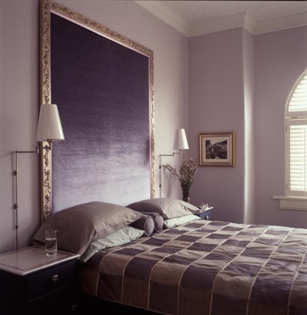 Oversized Headboard An Oversized Headboard Is Easy To Make From
