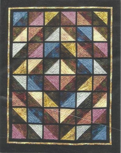 Light And Shadow Quilt Pattern Quilts Quilt Patterns Stained Glass Quilt