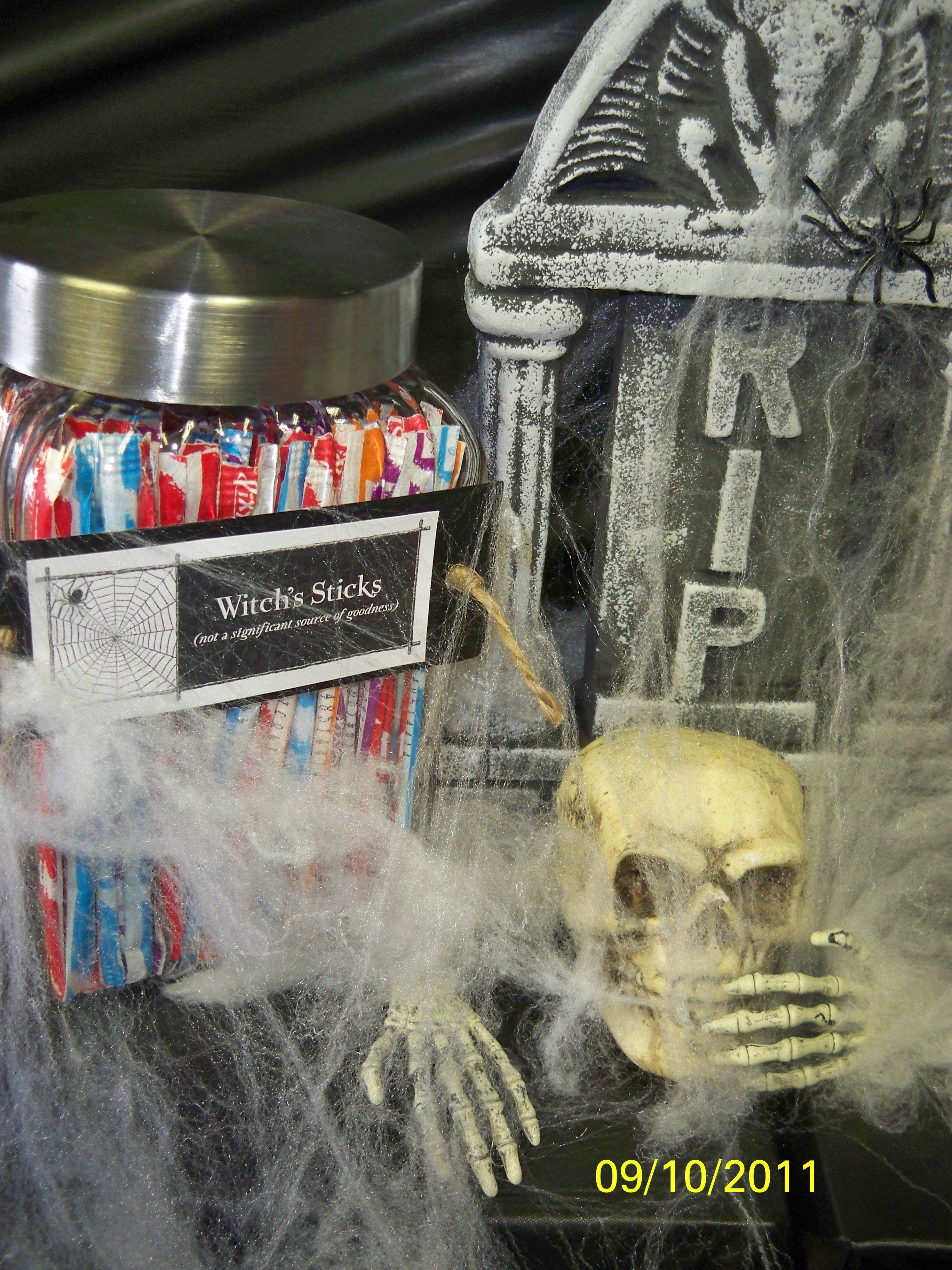 Candy Bar Halloween Wedding Wedding shower candy bar