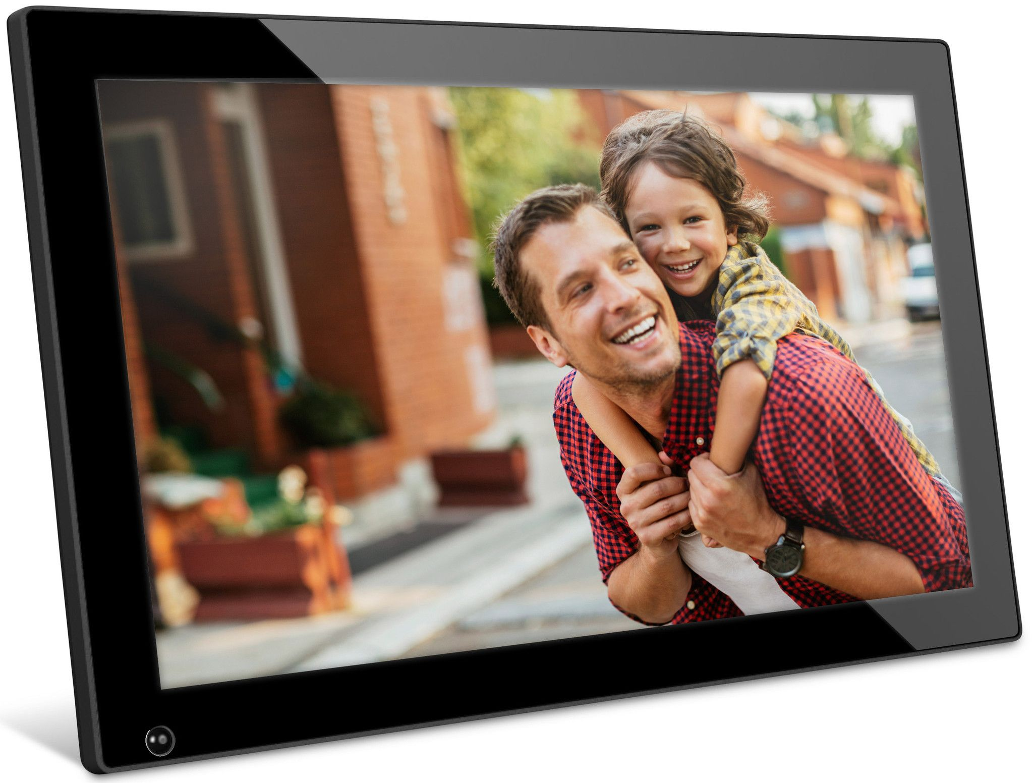 Nix advance digital frame 18 inch digital photo frame and cameras nix is an 18 inch digital photo frame with motion sensor technology it is a large digital picture frame with standard resolution display jeuxipadfo Gallery