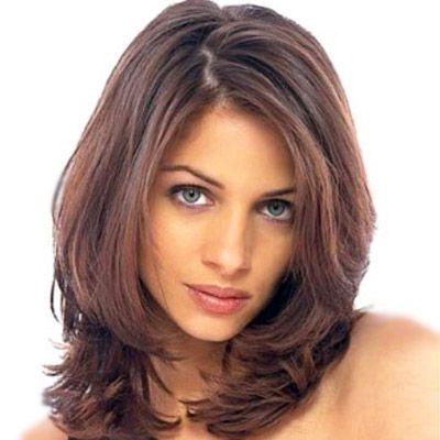 Стрижка рапсодия на средние волосы | Стрижка для волнистых ...