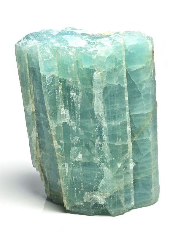Large Aquamarine Rough Gemstones Minerals Fossils Rocks