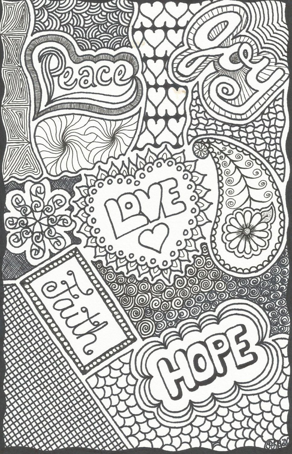 Coloring pages for donna flor - Color Page On Etsy