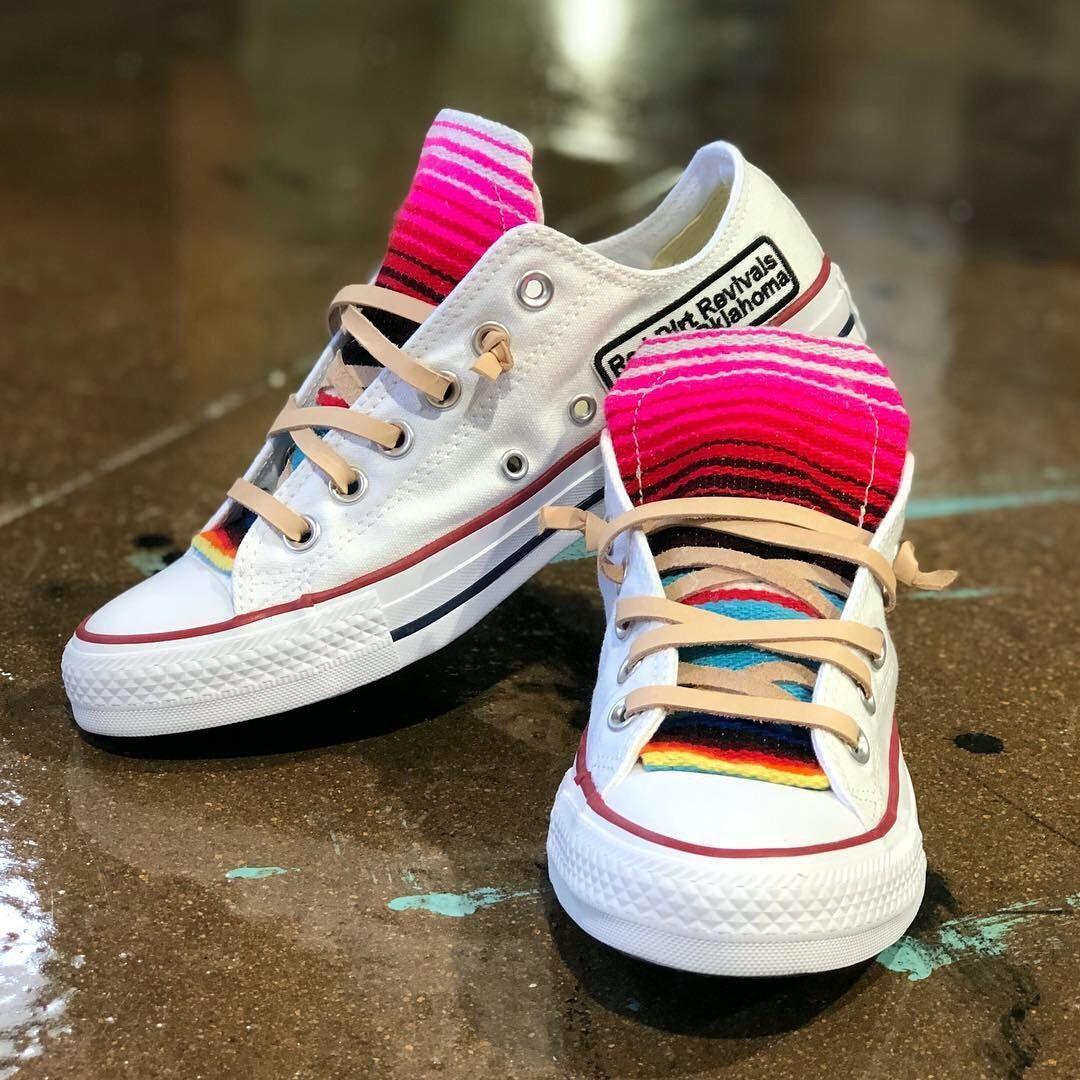 dd7823e25341 Serape Sneaker (White) in 2019