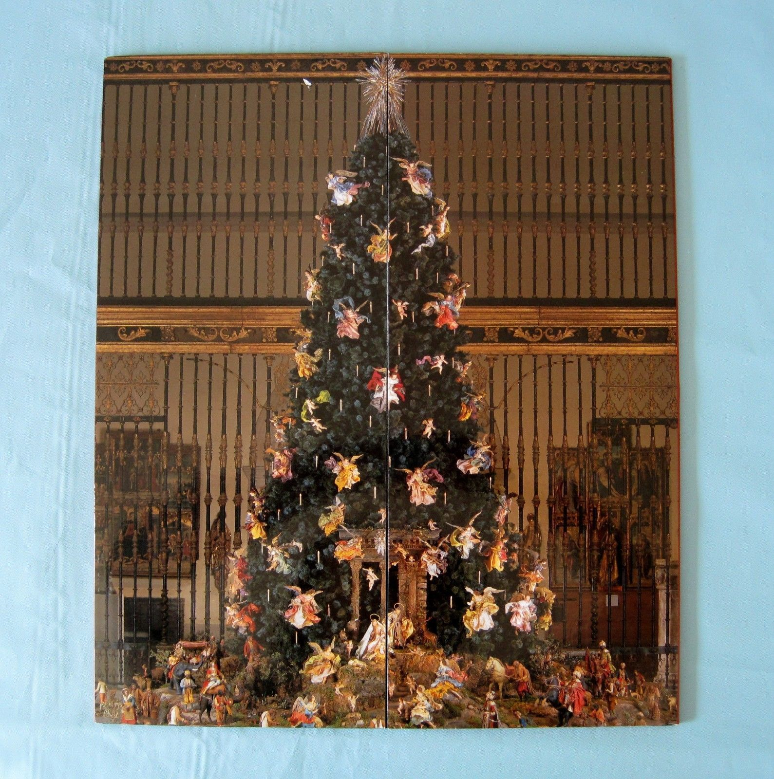 Metropolitan Museum Of Art Christmas Tree Creche Pop Up Advent Calendar Christmas Tree Metropolitan Museum Of Art Tree