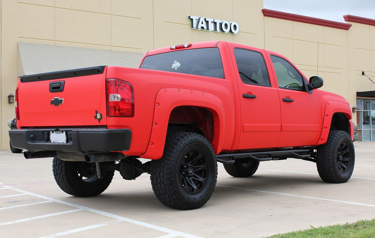 Matte Red Truck Wraps Matte And Satin Wraps Matte Red Trucks