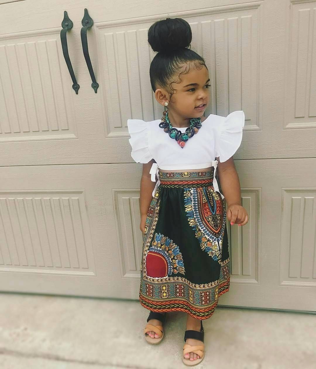 The Ankara Styles Your Baby Girl Would Fall For Moda