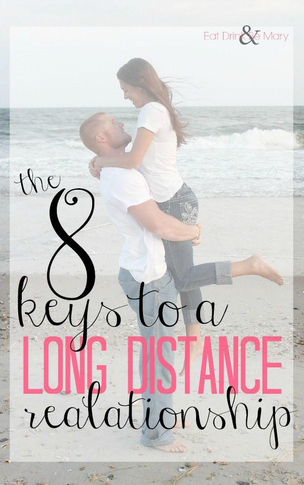 Keys to a successful long distance relationship