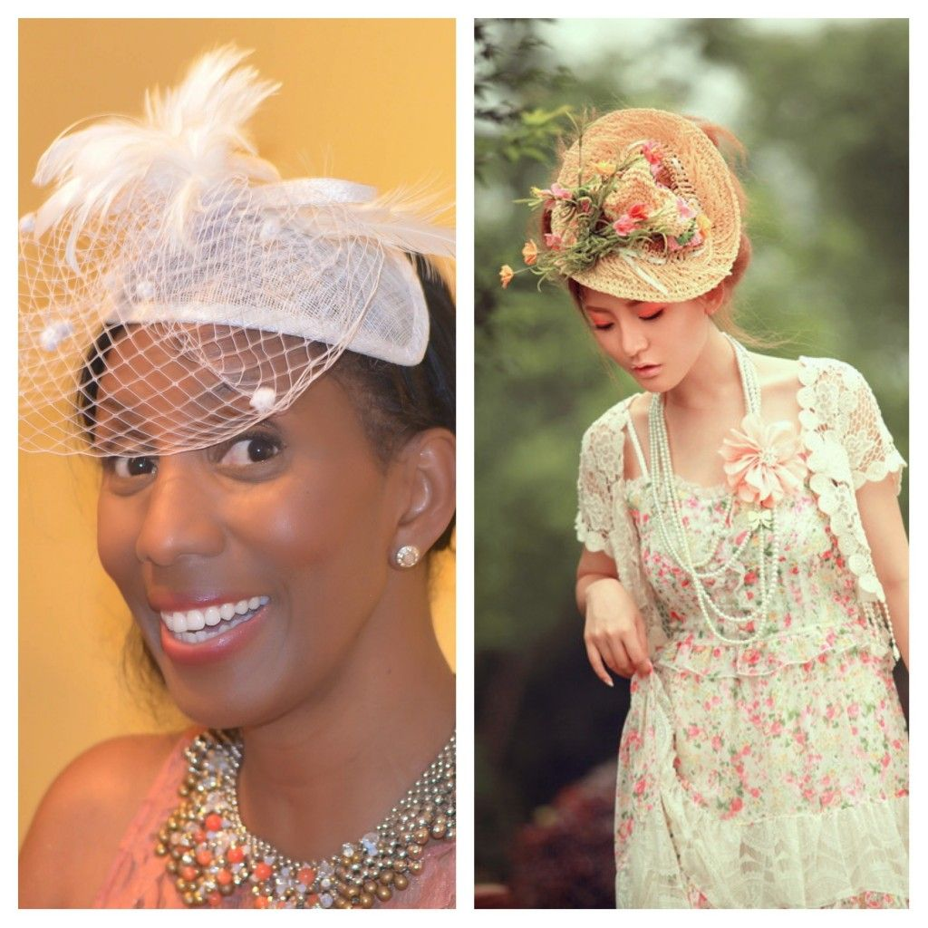 tea party hats for women | ... dress for an afternoon tea ...