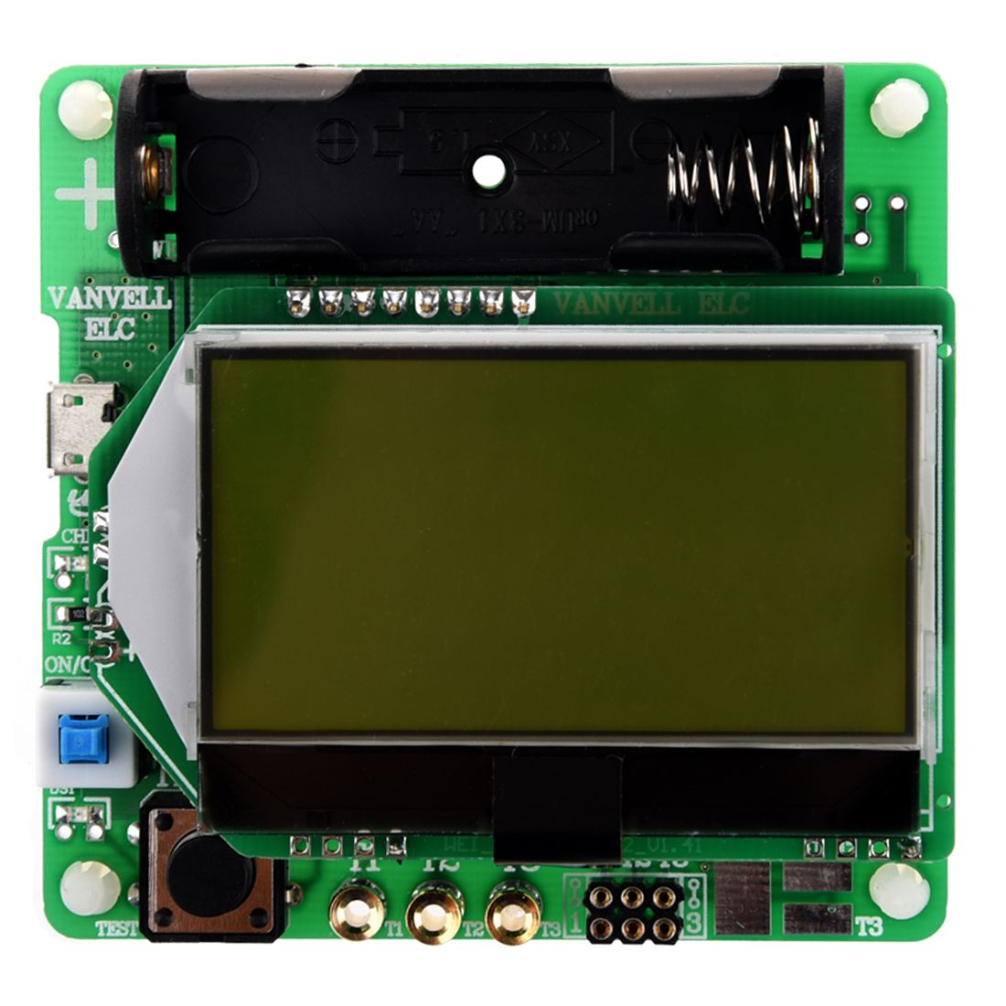 M328 Multifunctional Tester Capacitance Diode Paid Transistors Lcr Bridge Ebay Inductor Esr Meter With Usb Interface Green