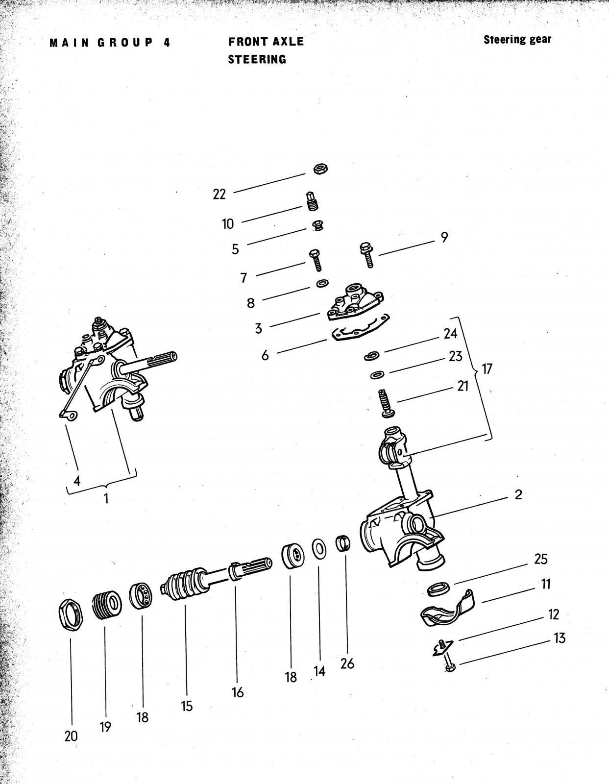 vw steering diagrams