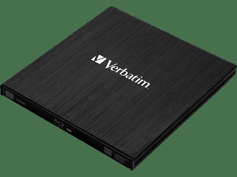 Verbatim 43890 Slimline Extern Blu-ray Brenner ,schwarz