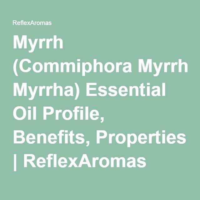 Myrrh (Commiphora Myrrha) Essential Oil Profile, Benefits, Properties | ReflexAromas