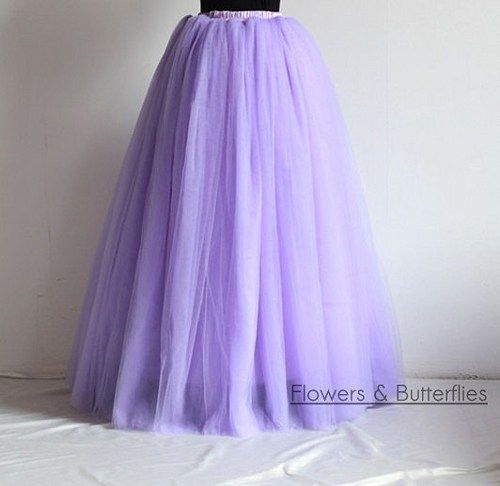 WORLDWIDE FREE SHIPPING Women Tulle Skirt In 81 Colours 7 Layers 39 Long Tutu