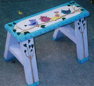 whimsy furniture. Whimsy Furniture - Unique, Hand-Painted