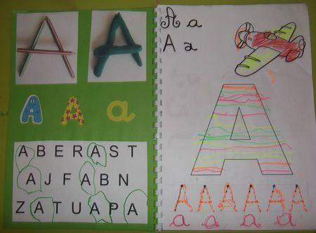 Dscf3276 Abecedaire Maternelle Cahier D Ecriture Activite Artistique Maternelle