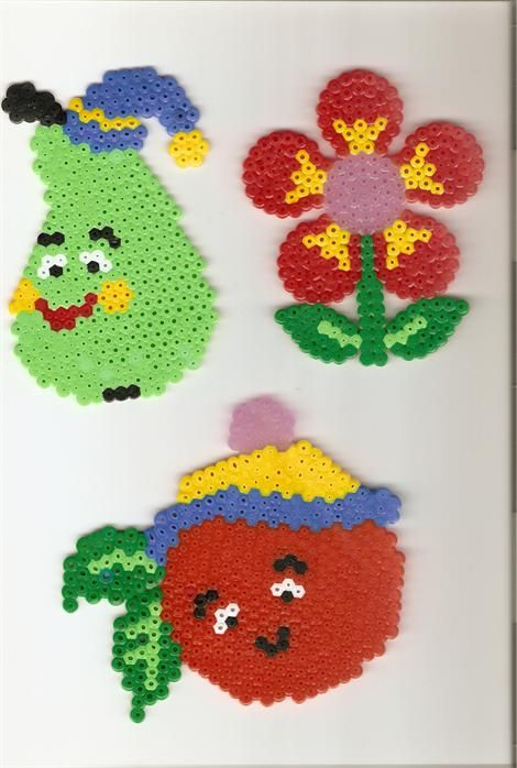Funny fruits perler beads by Annamaria V. -Perler® | Gallery ...
