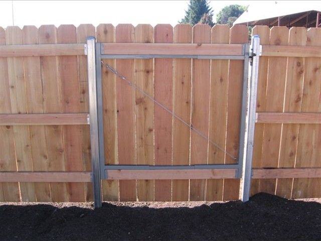 Postmaster Steel Posts Google Search Wood Gate Wood Fence