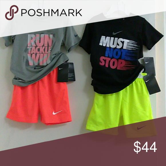 Boy's Nike Bundle Dri_Fit 2 Sets, Size: 4, XS Everything is