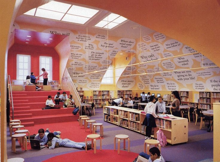 library innovative furniture - Google Search | School ...