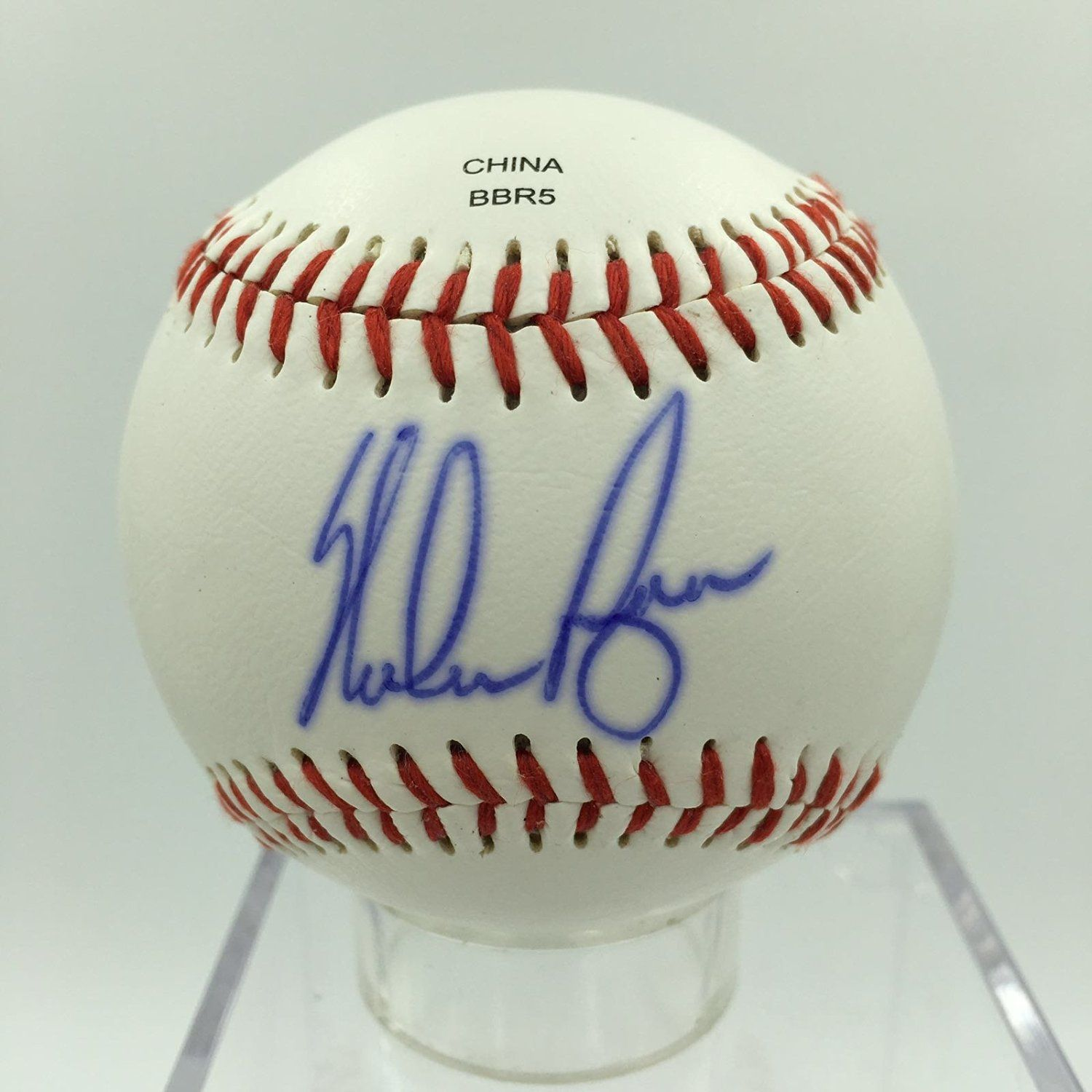 Nolan Ryan Signed Autographed Official Rawlings Baseball With Psa Dna Certificate Of Authenticity Coa Roll Over Image To Rawlings Baseball Rawlings Nolan Ryan