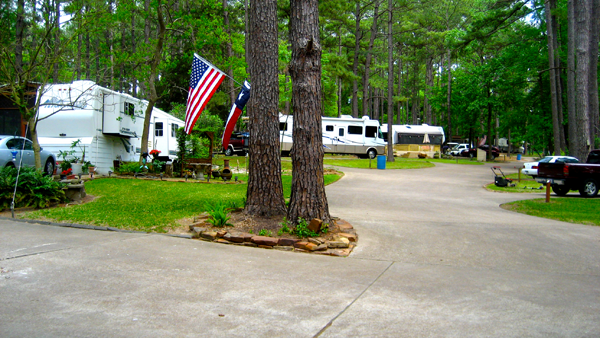Stow A Way Marina And Rv Park At Willis Texas Texas