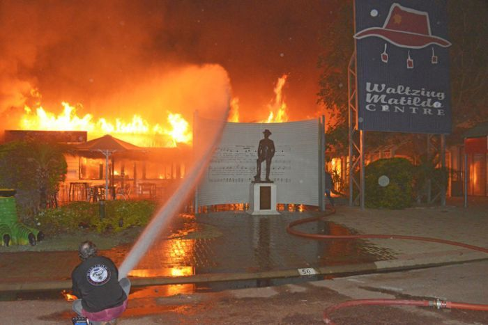 Waltzing Matilda Fire. Death of a Queensland icon.