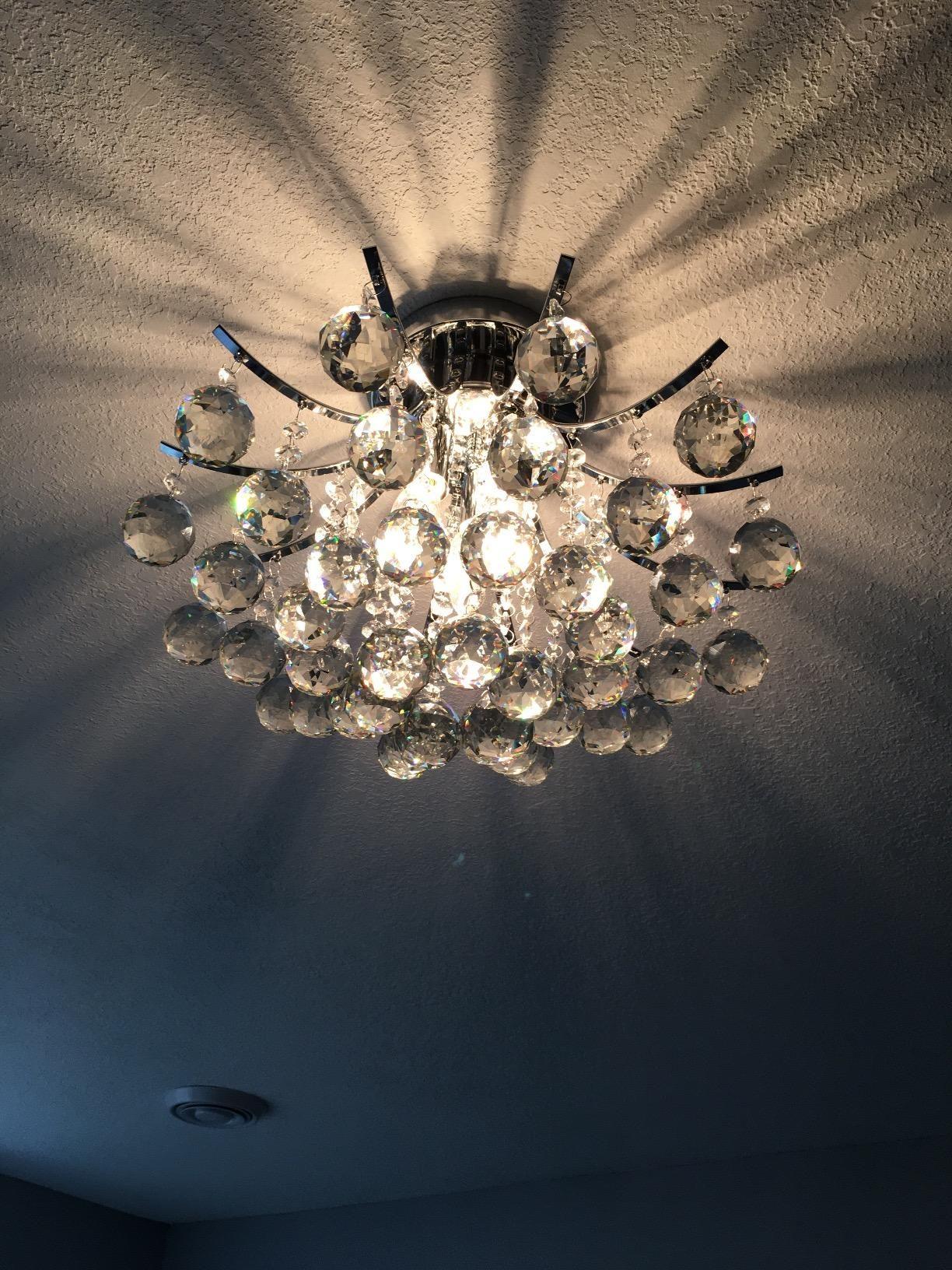 Illuminate психиатрия жестокост Saint, Saint Mossi Chandelier Modern K9 Crystal Raindrop Light