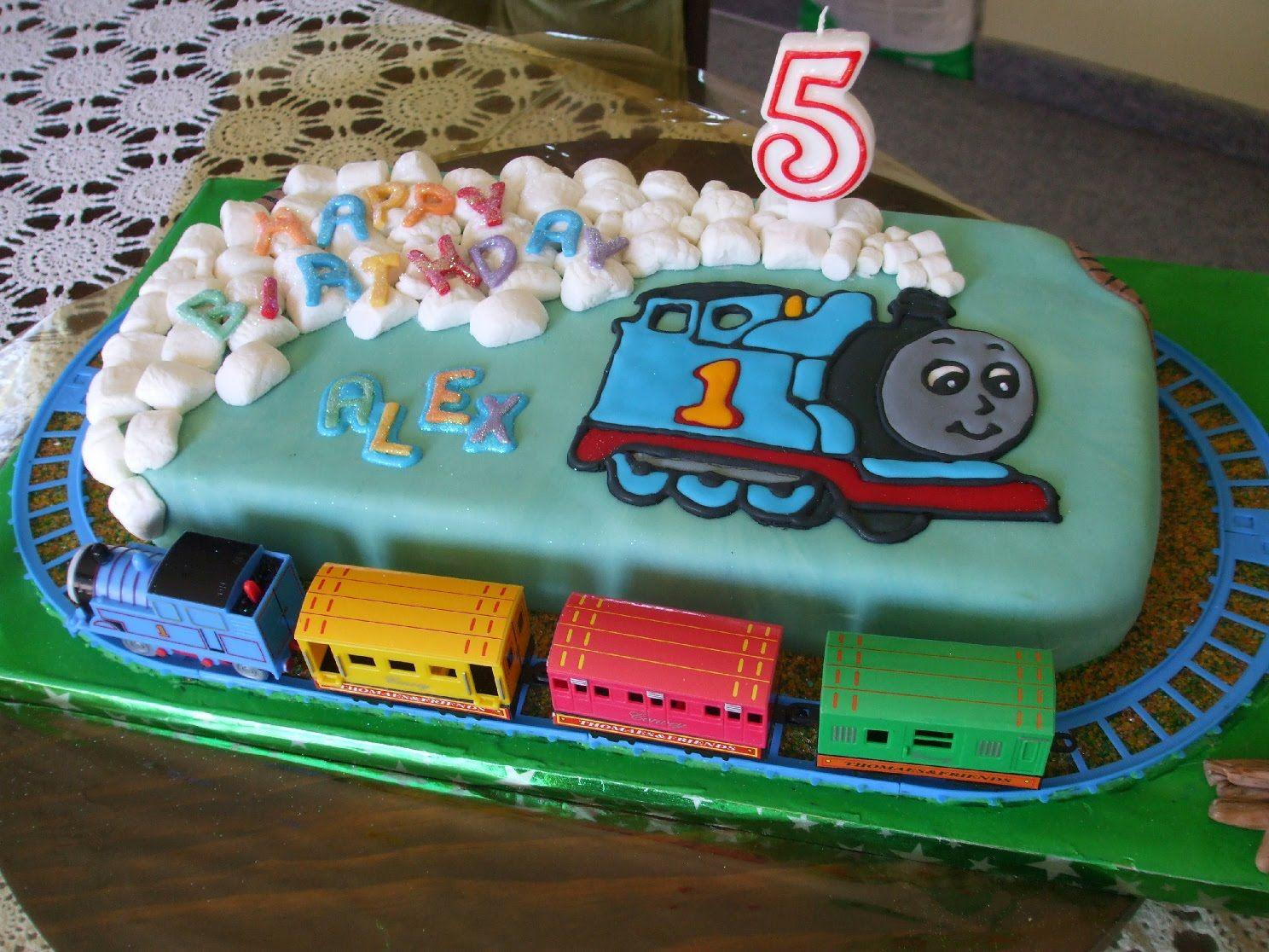 Thomas The Train Birthday Cakes Another Thomas The Tank Engine - Thomas birthday cake images