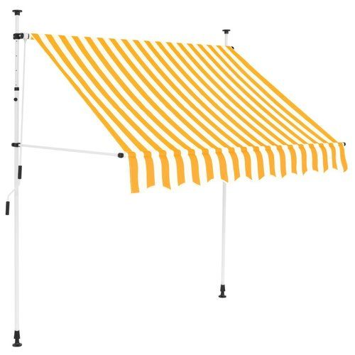 Wyaconda W 2 5x D 1 2m Retractable Patio Awning Lynton Garden Colour Yellow Retractable Awning Custom Awnings Polycarbonate Roof Panels