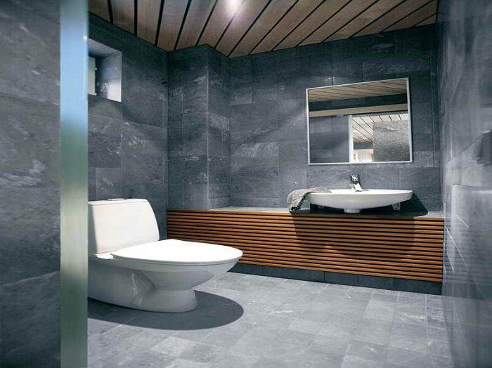 Natural Tile Ideas For Bathroom