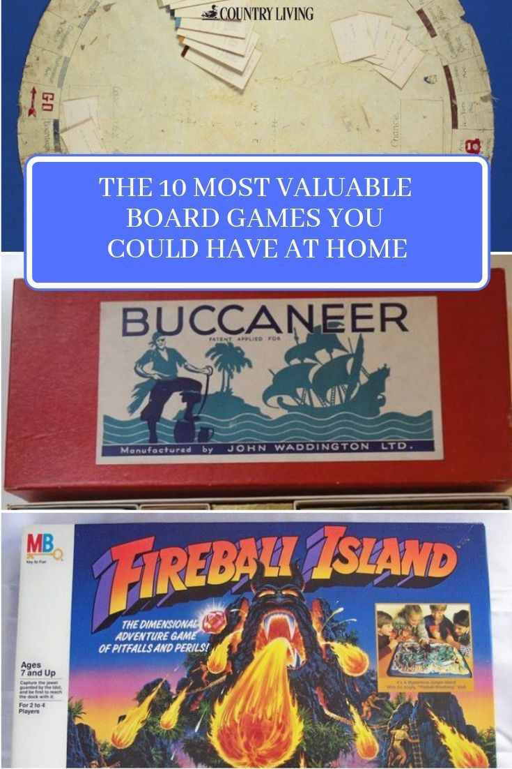 The 10 most valuable board games you could have at home