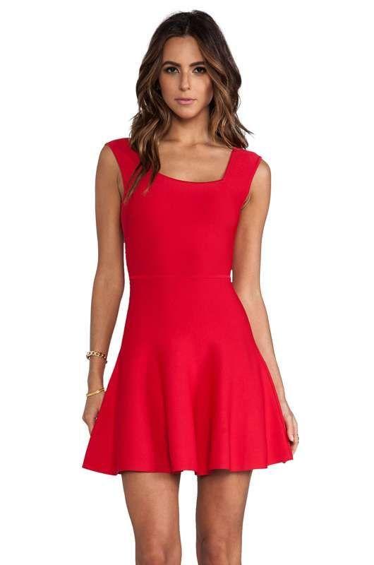 9df89e50c Resultado de imagen para vestidos rojos casuales