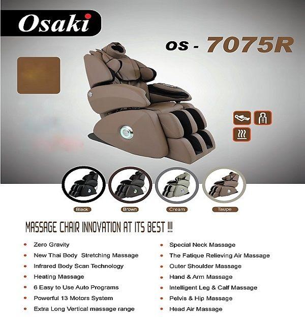 Massage Chair · Osaki OS   7075R ...