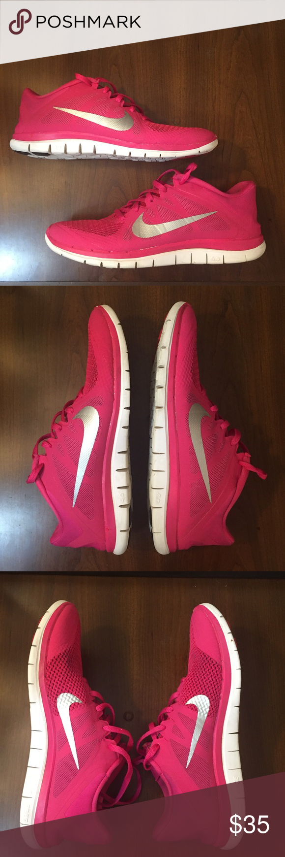 8041fd3e9df3e Women s Nike Free 4.0 V4 Running Shoes - 10