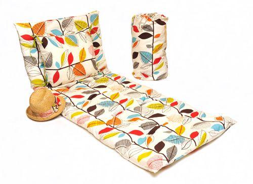diy matelas de sol et coussin nomade. Black Bedroom Furniture Sets. Home Design Ideas