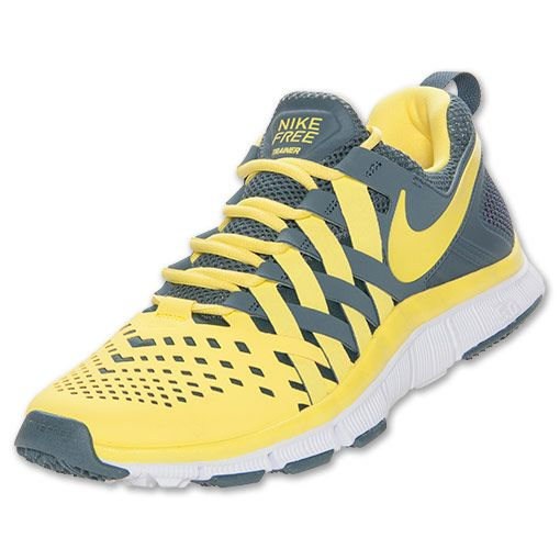 Nike Men's Free Trainer 5.0 Cross Training Shoes ... I really like the  yellow