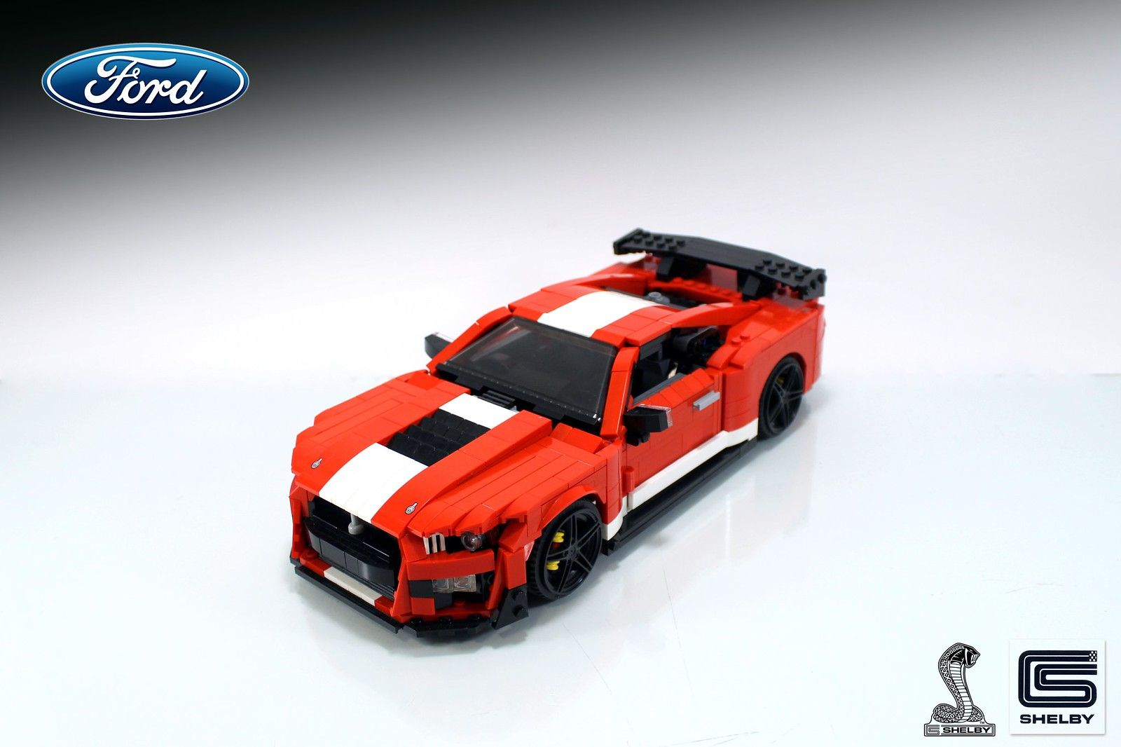 2020 Ford Mustang Shelby Gt500 Lego Cars Lego Wheels Shelby Gt500