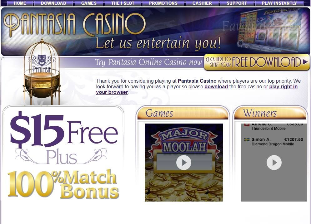 Pantasia casino review best casino cyber