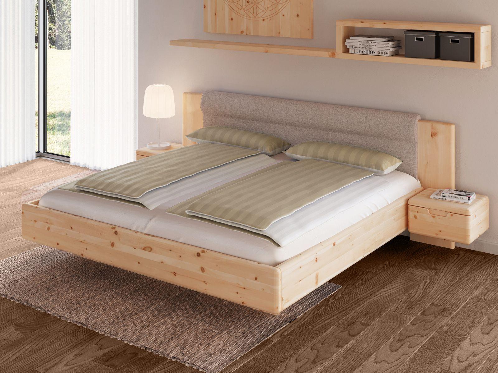 Zirbenholzbett Leonie Zirbenholz Bett Rustikale