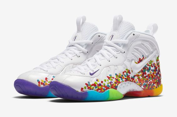 online store 4e924 7ef5d The Nike Little Posite Pro Fruity Pebbles Arrives Tomorrow ...