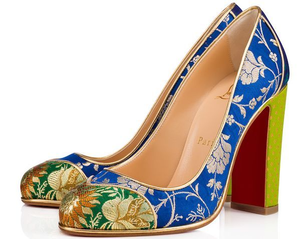 4a1d41f9f329 Christian Louboutin s colourful collaboration with Indian Designer  Sabyasachi
