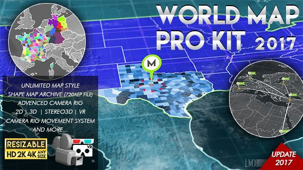 World map pro kit after effects templates pinterest template world map pro kit after effects template gumiabroncs Images