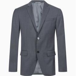 Calvin Klein Taillierter Wollstruktur-Blazer 50 Calvin KleinCalvin Klein