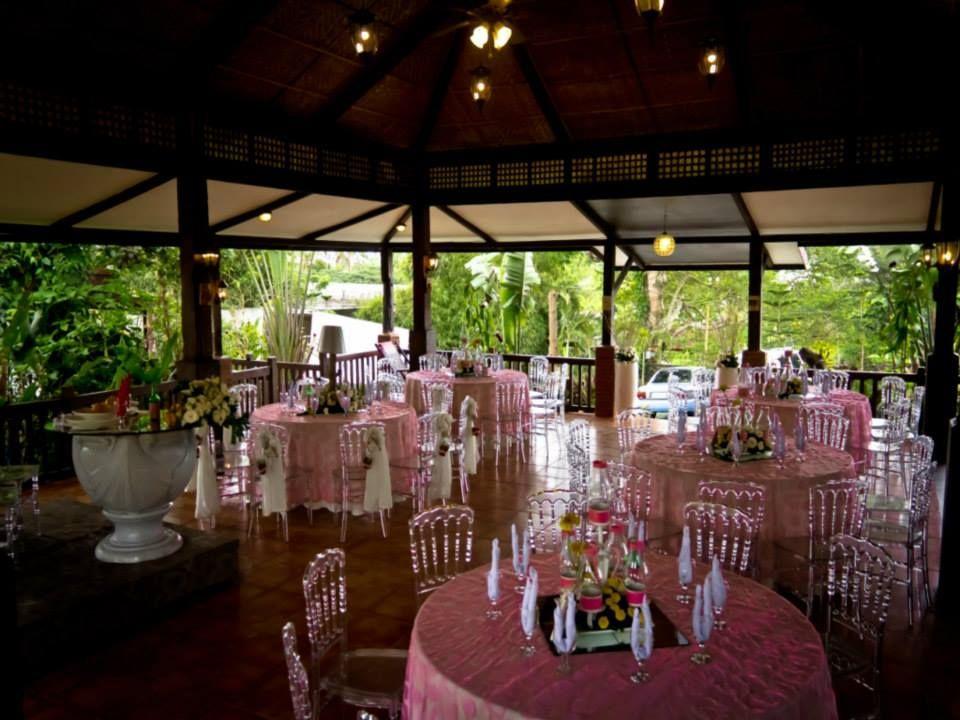 Setup At Tagaytay Wedding Cafe Tagaytayweddingplanners