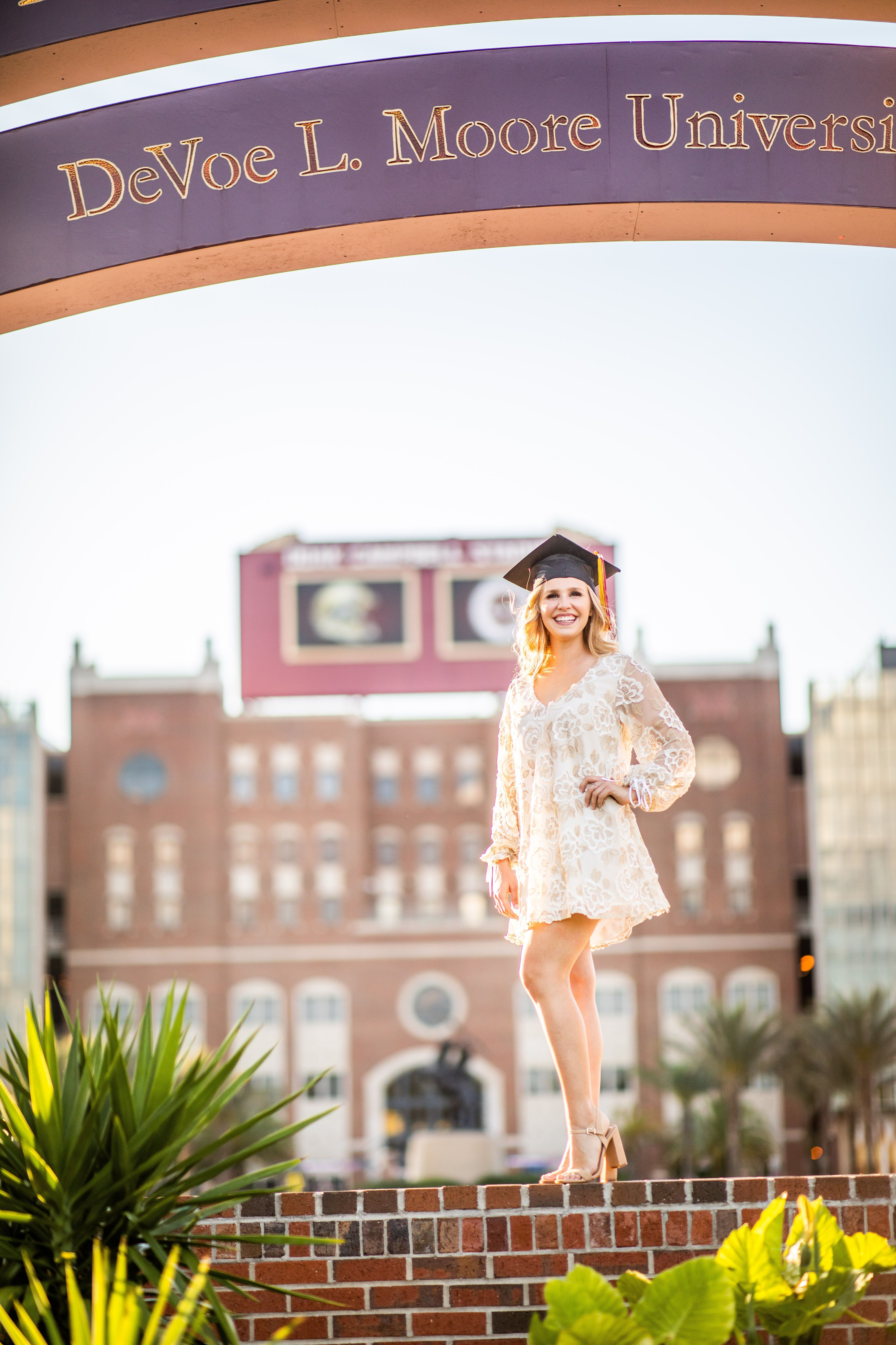 FSU Graduation Session Doak Campbell Stadium FSU Senior  FSU Graduation Session Doak Campbell Stadium FSU Senior