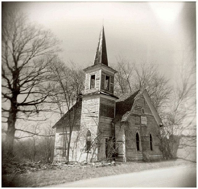 Abandoned Church, Wisconsin