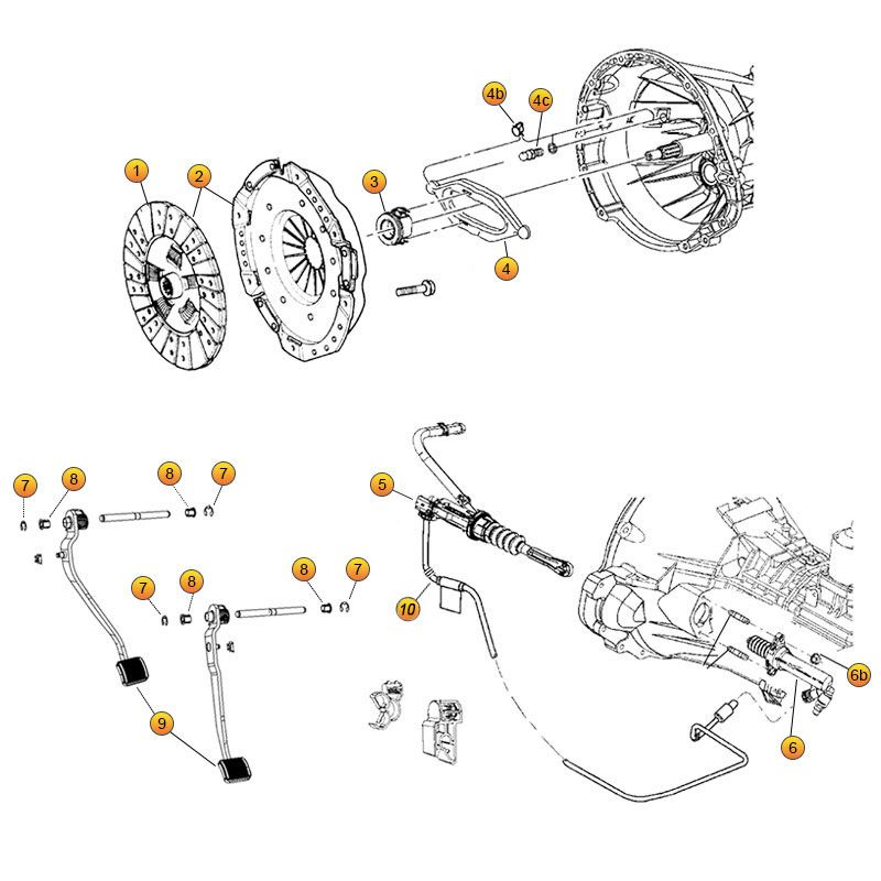 jeep cj parts diagram