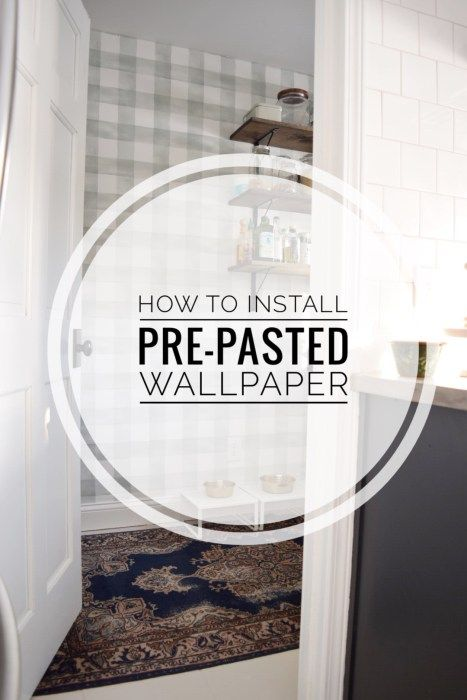How to Install PrePasted Wallpaper (With images